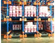 Pallet Runner for compact storage in a cold store