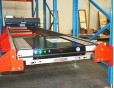 Radio shuttle, Pallet shuttle, pallet runner for compact storage in a cold store