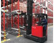 Satellite car compact storage system for food industry